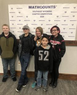 Glendo Students Attend Math Counts Competition