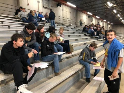 FFA Students Learn at LCCC Judging
