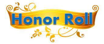 Honor Roll - 2nd Semester/4th Quarter