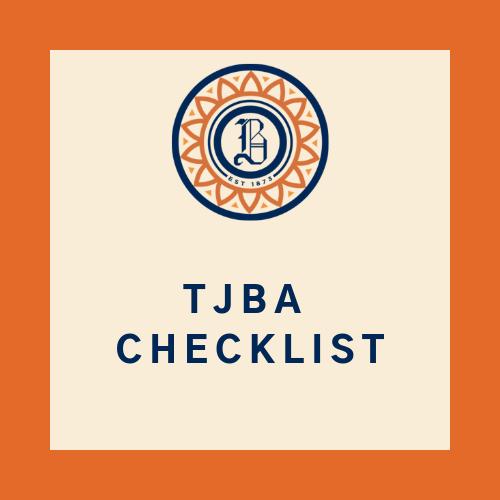 TJBA Checklist Icon