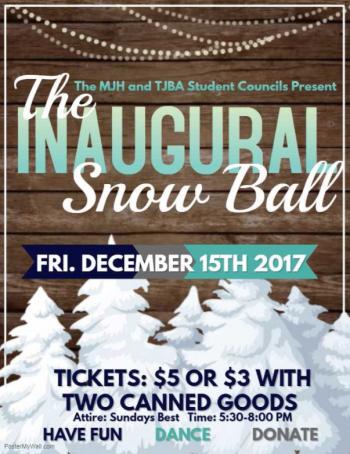 The Inaugural Snow Ball