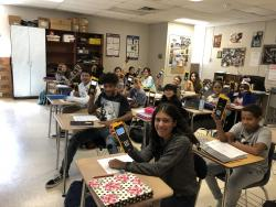 C-C 8th Grade Math Scores Consistently UP!