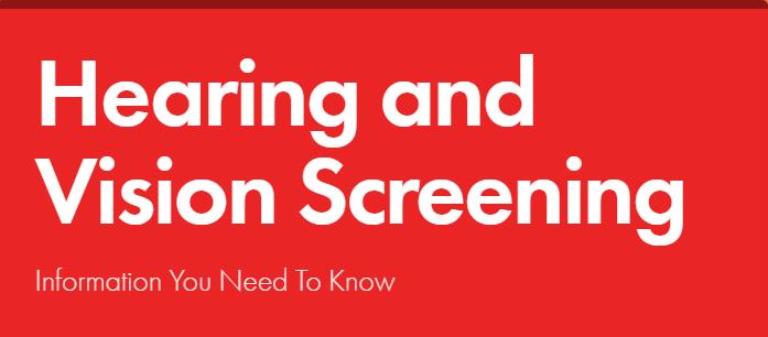 Hearing and Vision Screening