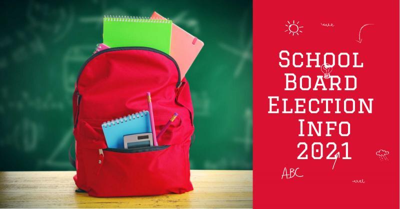 School Board Election 2021 Information