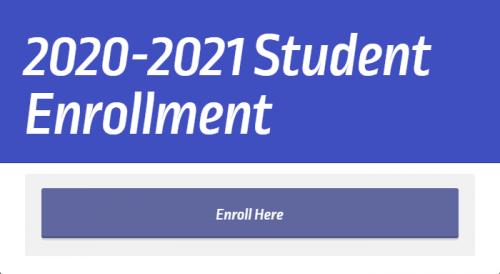 2020-2021 Student Enrollment