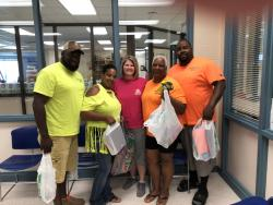 Dusk 2 Dawn Donates School Supplies