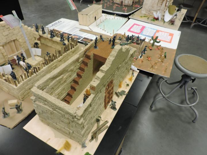 A Model of the Alamo