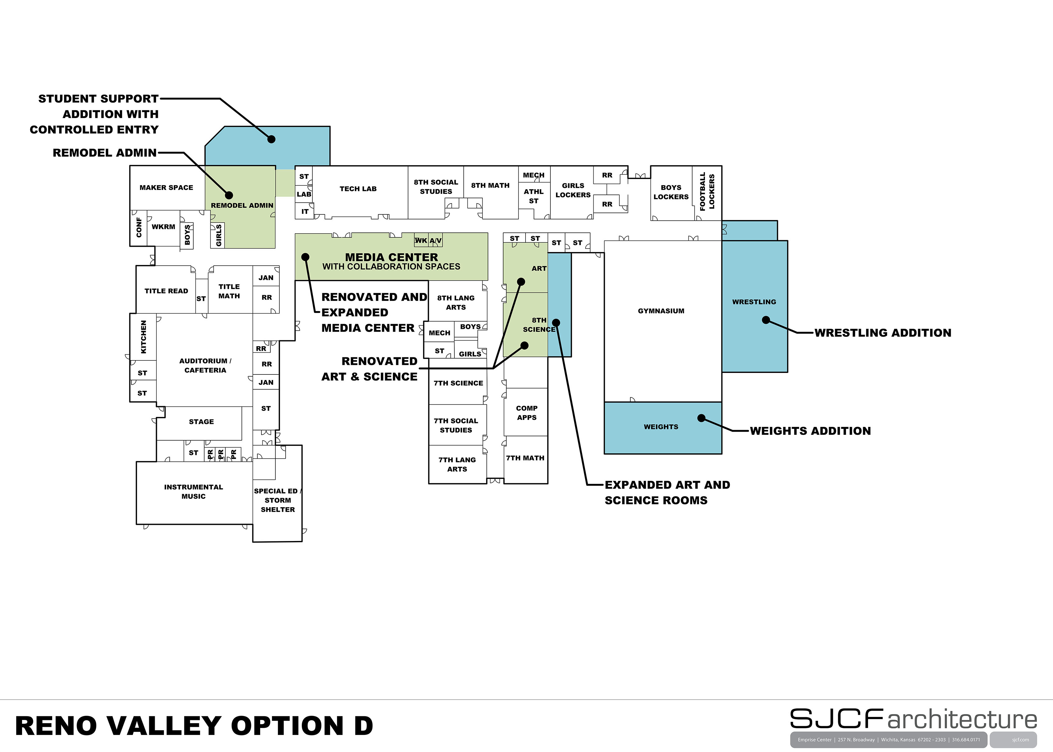 Reno Valley MS Floor Plan