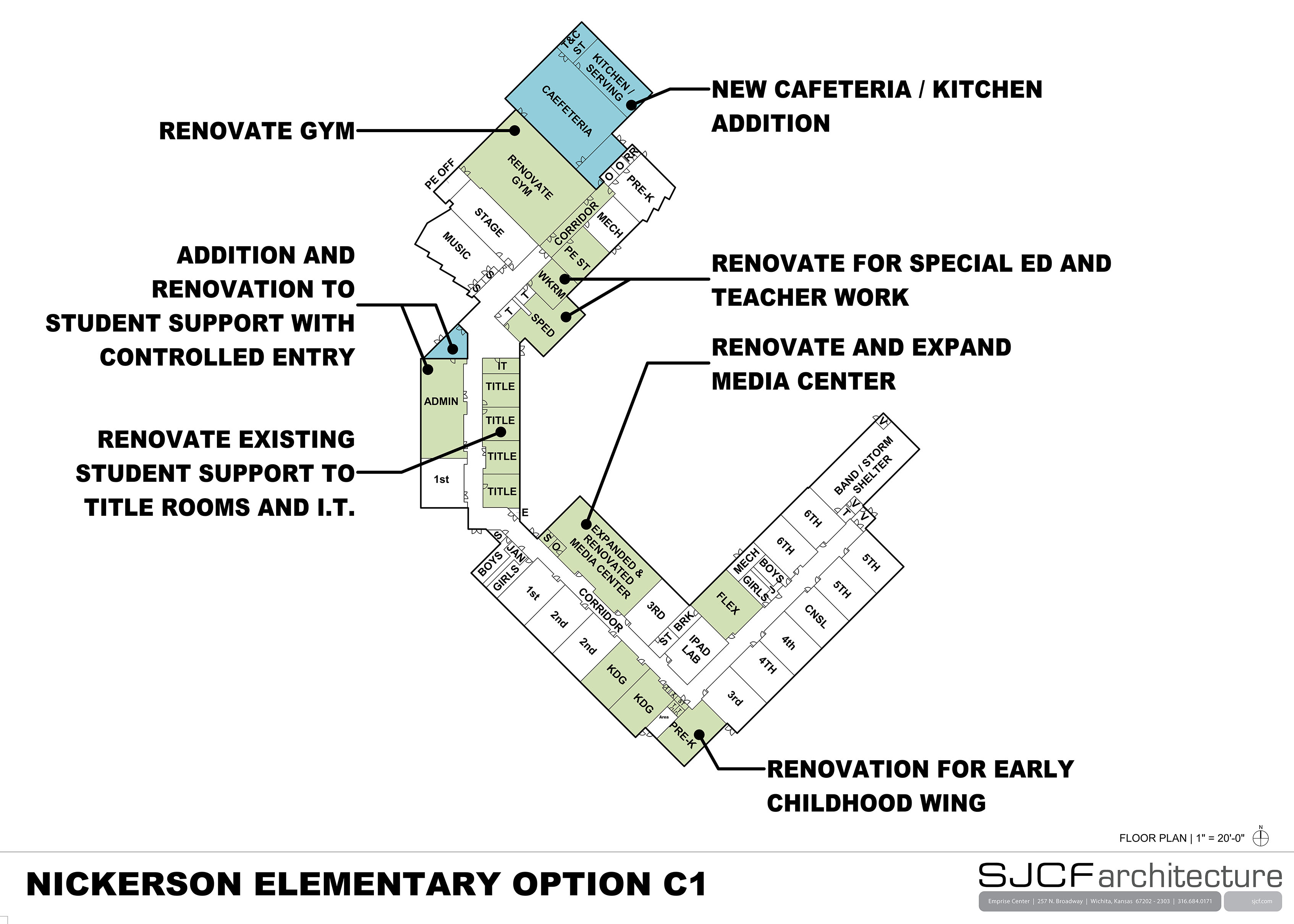 Nickerson Elem Floor Plan