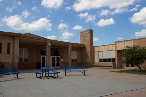 Front entrance to Nickerson High