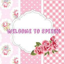 Welcome to speech
