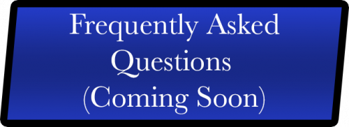 Frequently asked Questions button coming soon