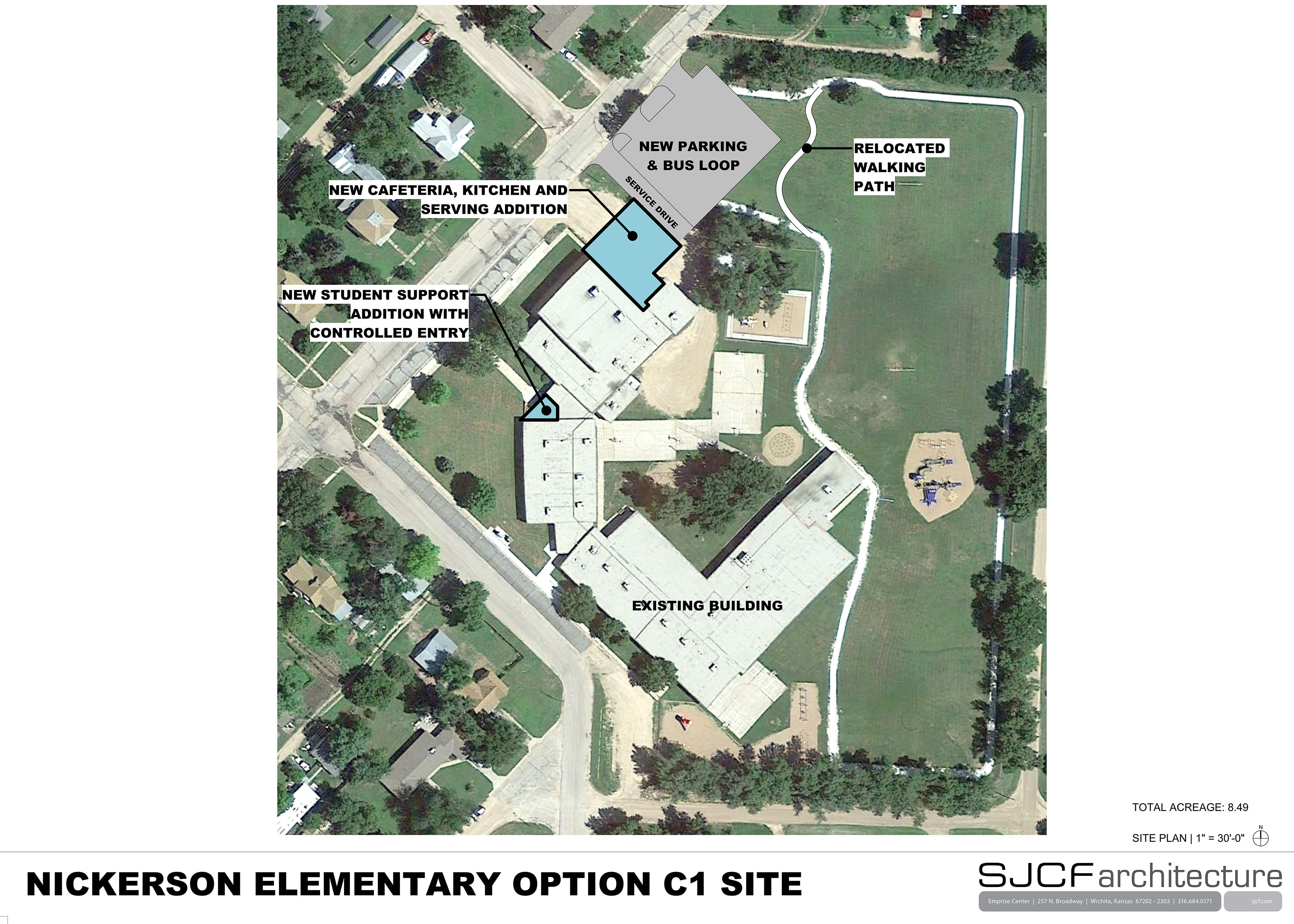 Nickerson Elem Site Plan