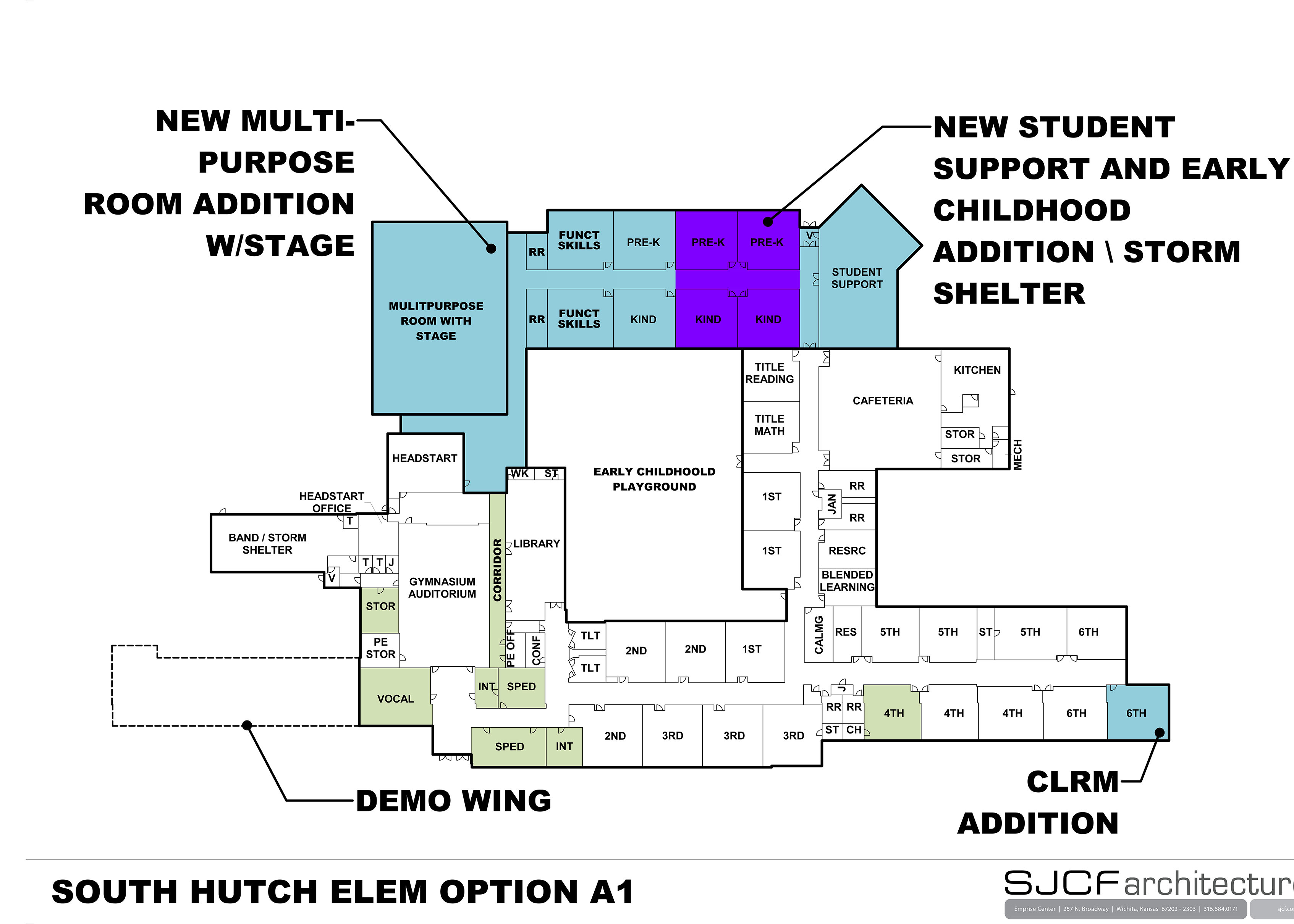 South Hutchinson Elem Floor Plan