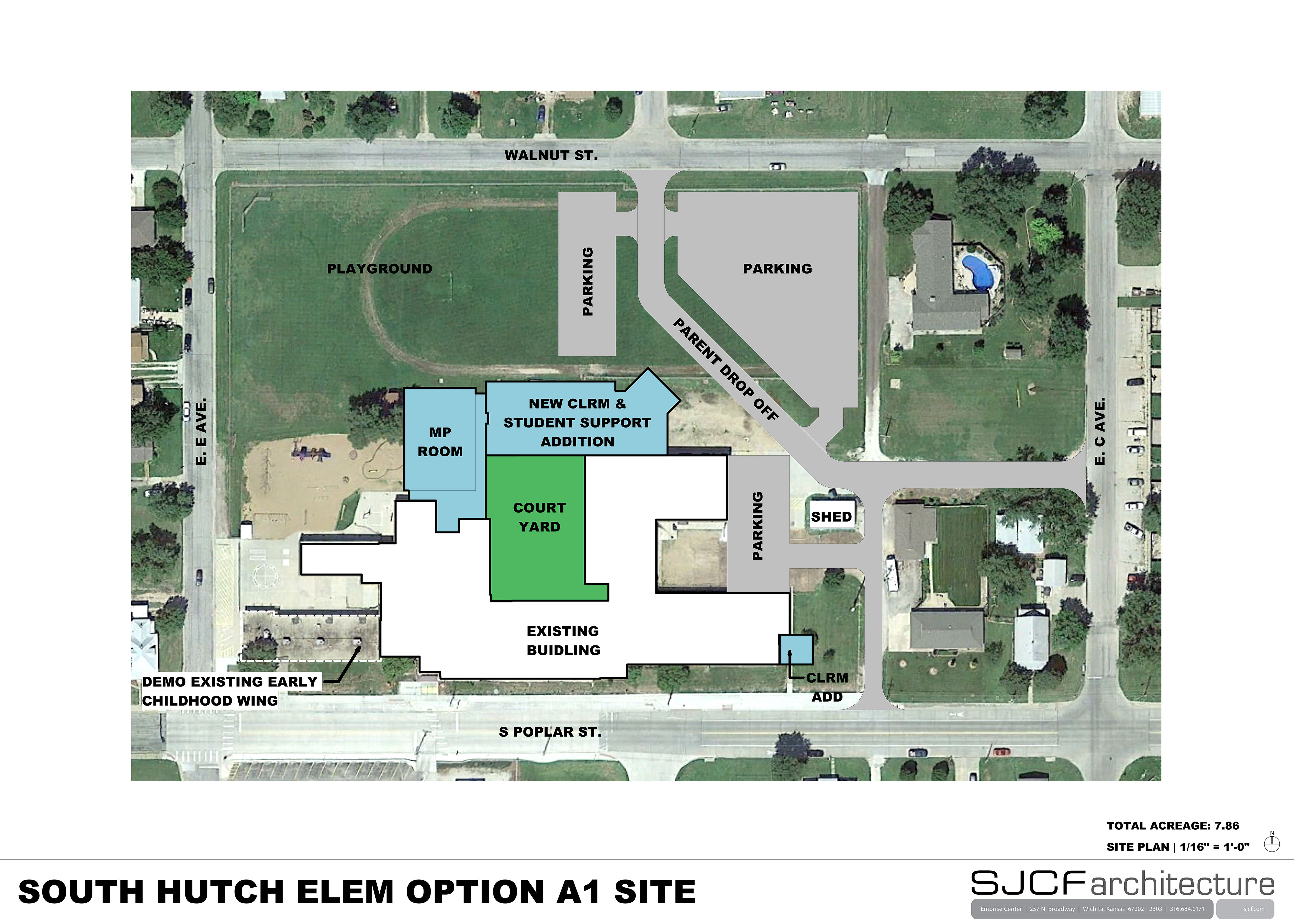 South Hutchinson Elem Site Plan