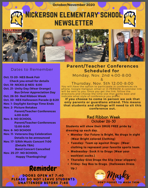Oct. Newsletter Page 1