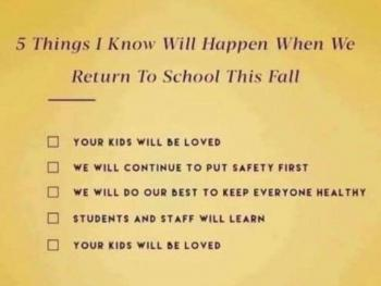 5 Things I Know Will Happen When We Return To School