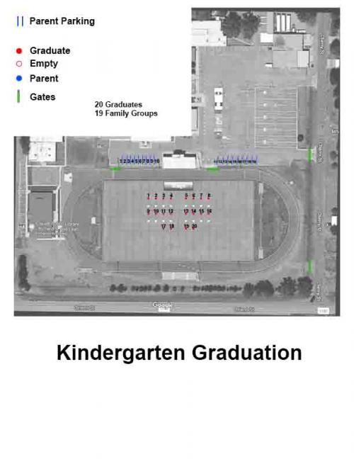 Kindergarten Promotion Layout