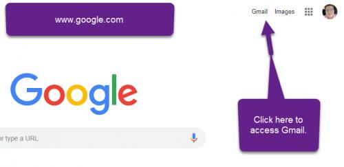 Google Gmail Navigation