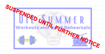UIL Summer: Workouts and Band Rehearsals