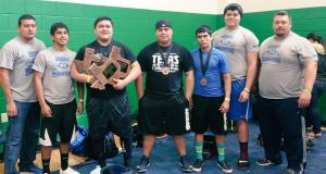 2015-The team finished 6th in the Region as all five lifters improved on their personal records.