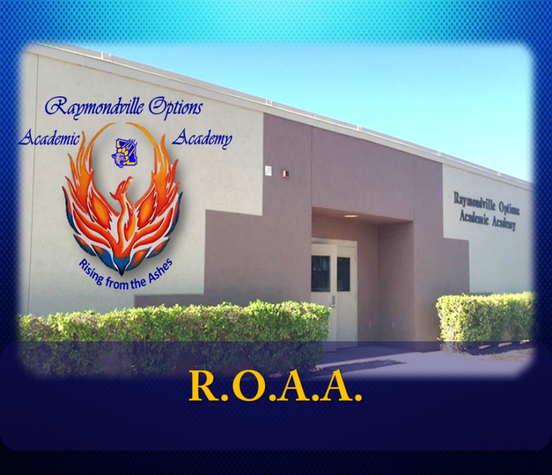 Landscape View facing Raymondville Options Academic Academy