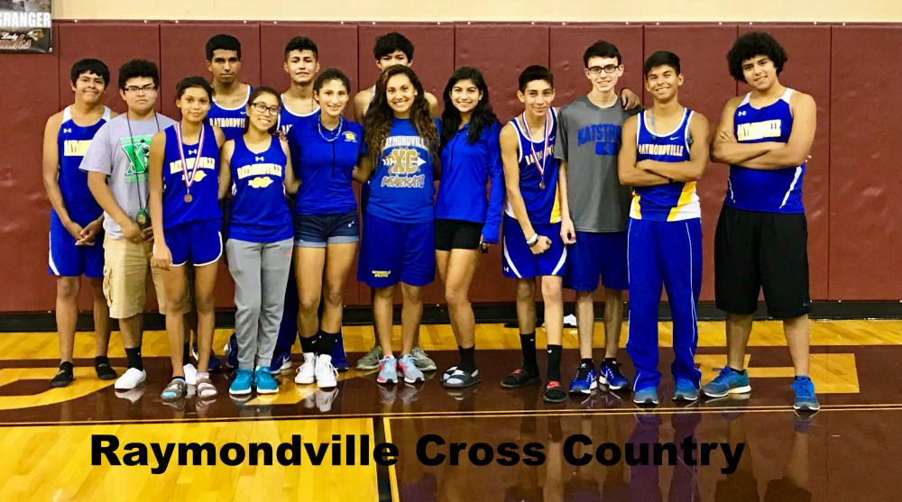 Boys and Girls Cross Country Team at Zapata