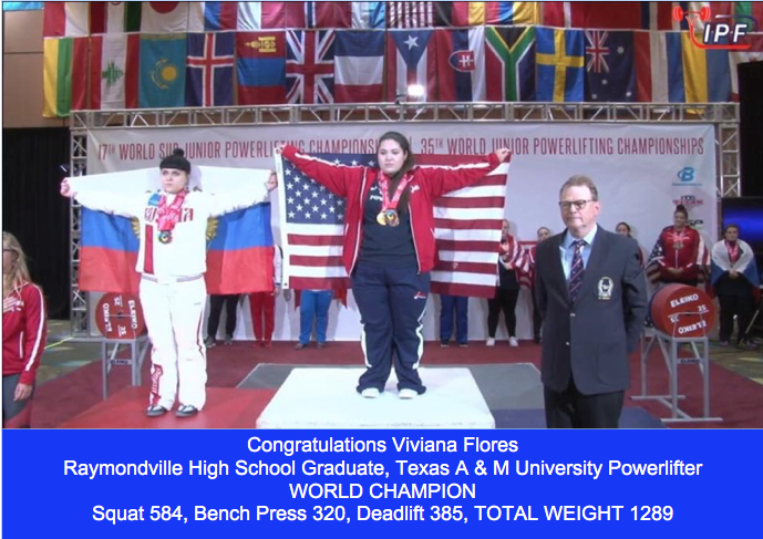 Viviana Flores World Champion