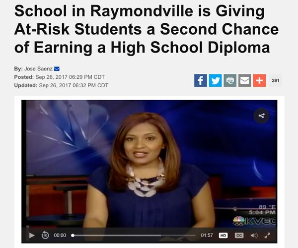 second chance of earning a high school diploma
