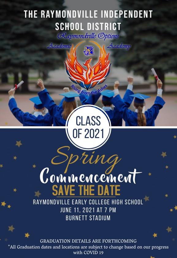 ROAA Graduation, Friday, June 11 @ 7