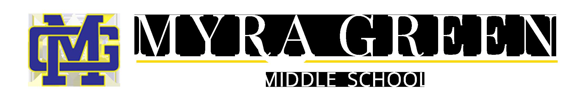 Myra Green Middle School Logo