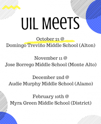 uil schedule