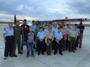 Woodward OK-116 & Boy Scouts Troop 255