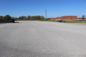 Football Field House Parking Lot