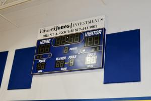 Junior High Gym Scoreboard