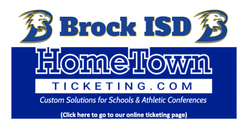 Brock ISD Athletic Ticketing