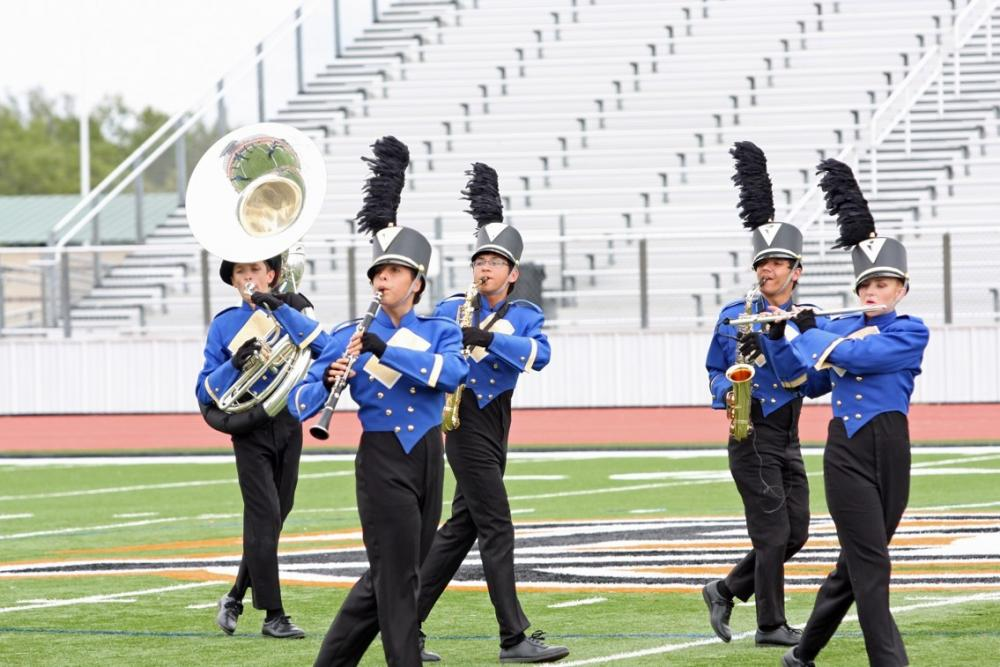 Brock Marching Band Region Competition