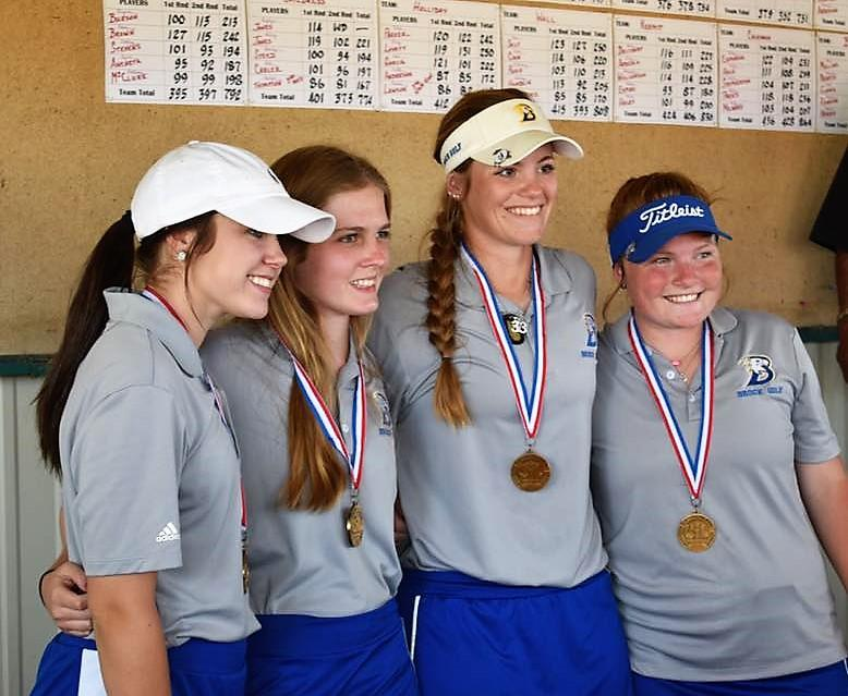 Girls Golf Team State Qualifiers