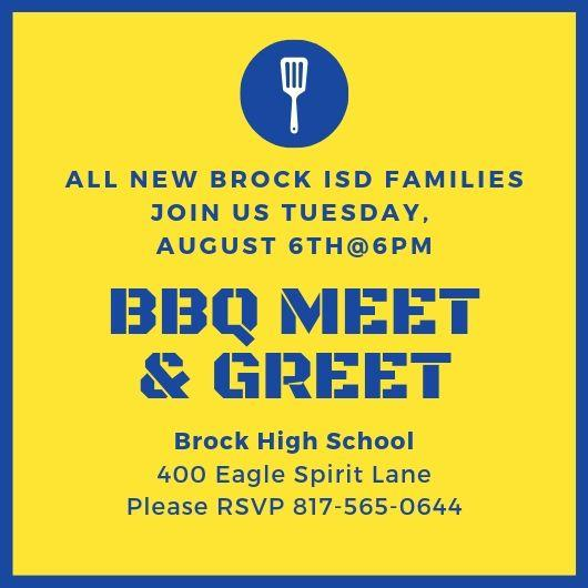Welcome New Families Announcement