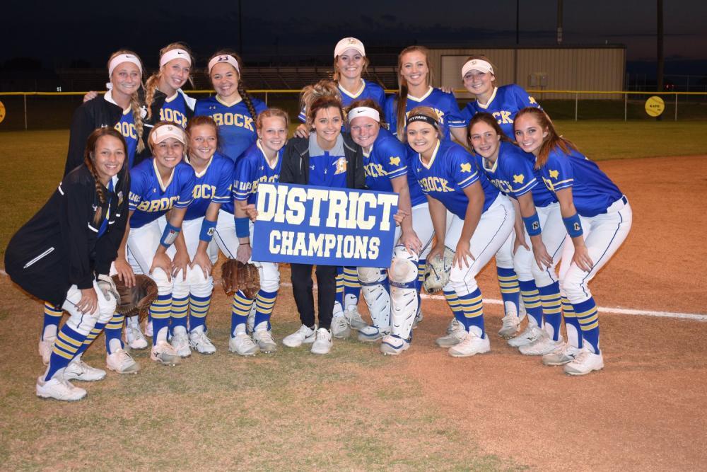 Softball District Champions