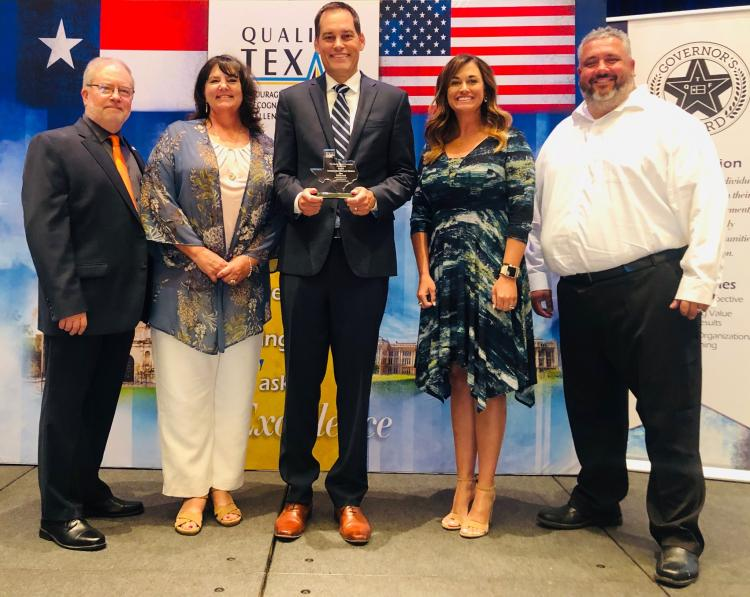 Brock ISD receives Pioneer Award