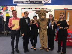 FHS Speech with their awards and qualifications after the Chisholm Tournament