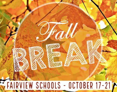 Fall Break Info