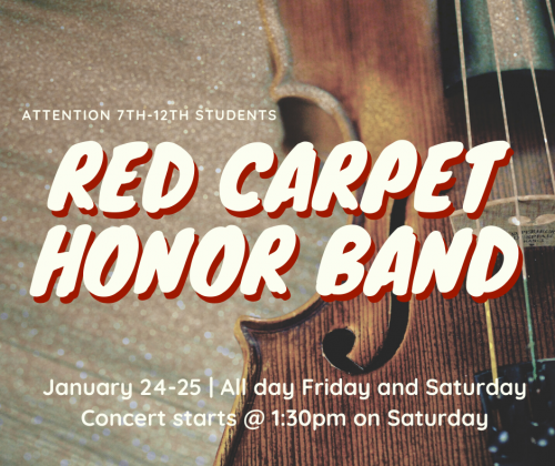 Red Carpet Honor Band
