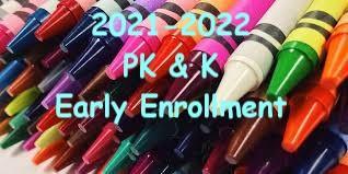 PK & K Early Enrollment