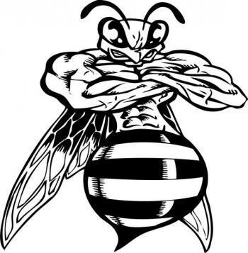 Colcord Hornets Mascot.