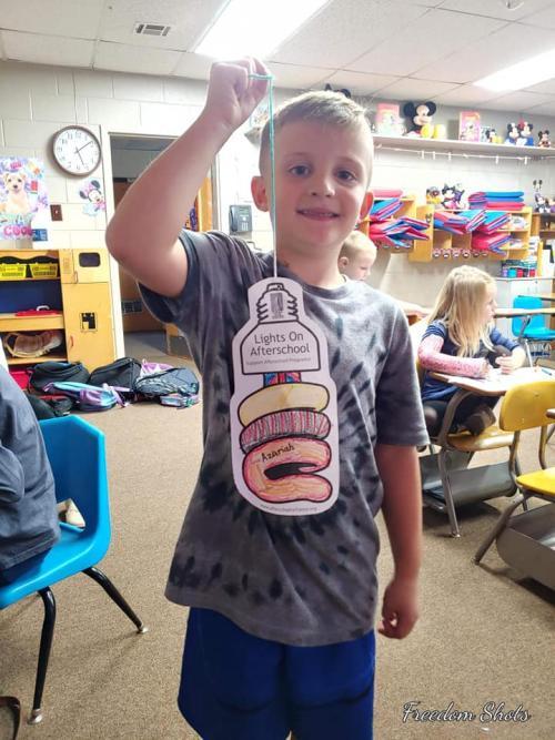 Students Celebrating afterschool programing