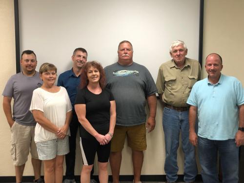 2019-2020 School Board Photo