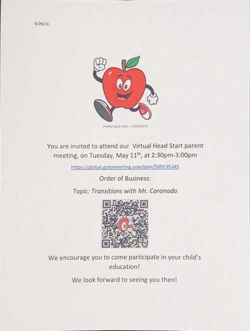 headstart parent meeting