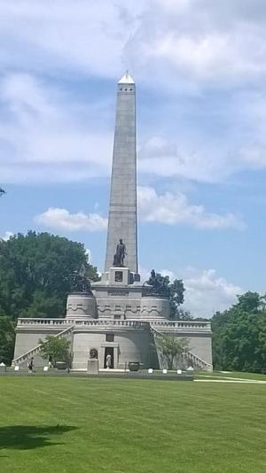 Abraham Lincoln's Tomb in Springfield, Illinois